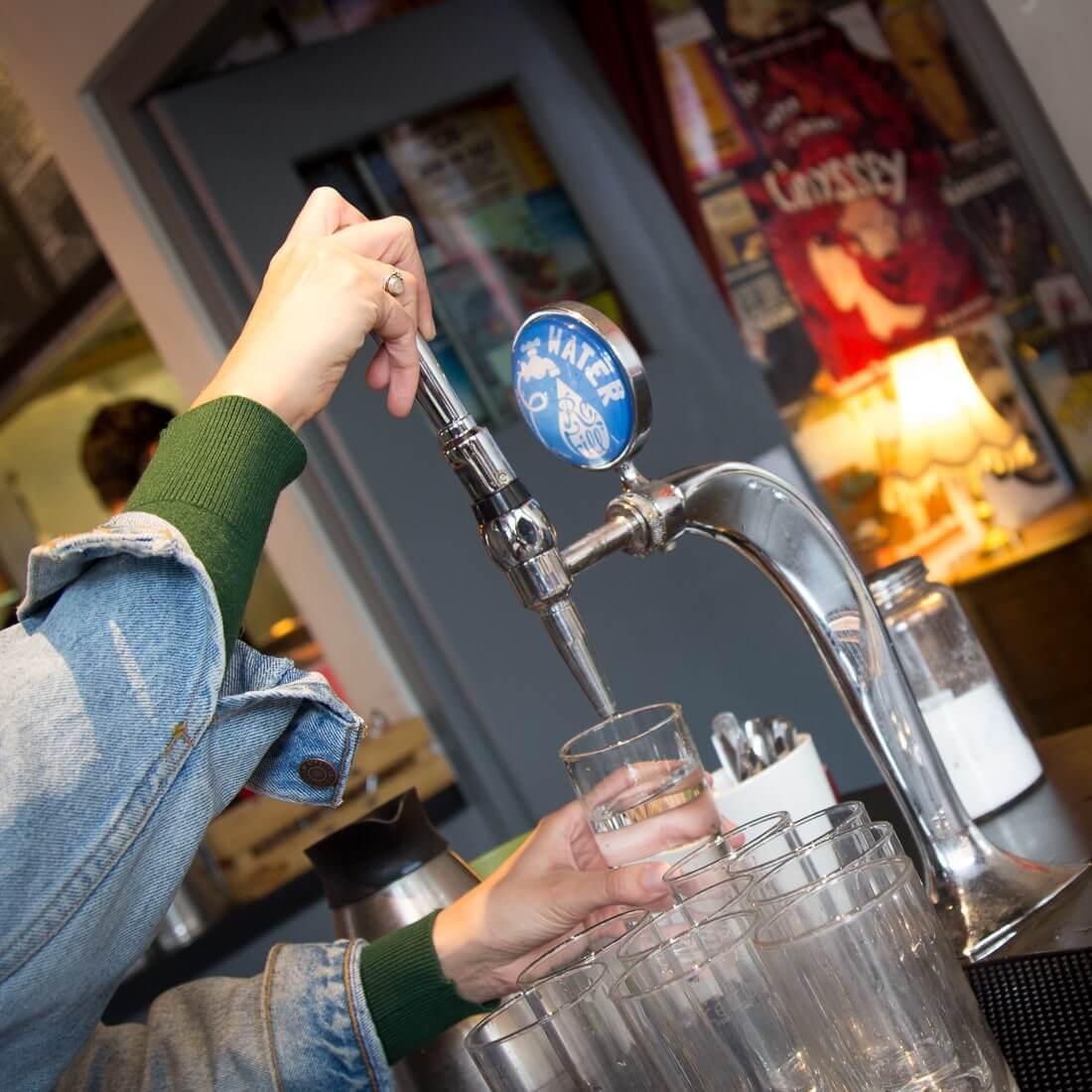 Refill Water tap, pub