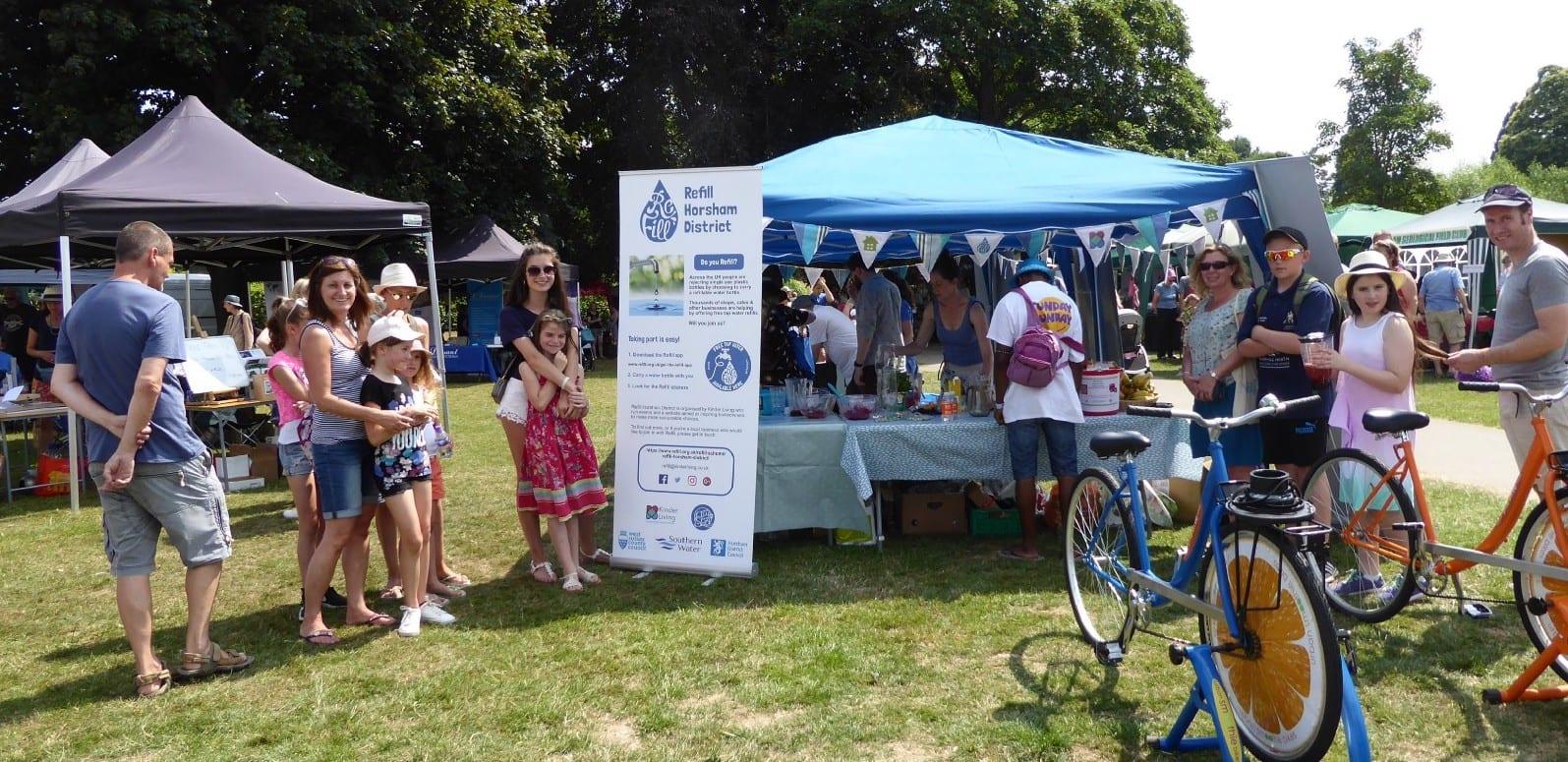 Refill Horsham District volunteer day