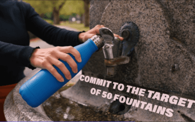 The return of the water fountain