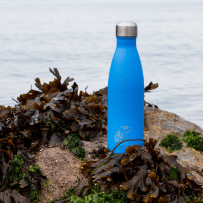 Refill X Chilly's bottle on the Barry beach
