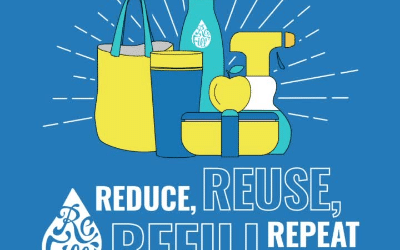 Reduce, reuse, refill, repeat